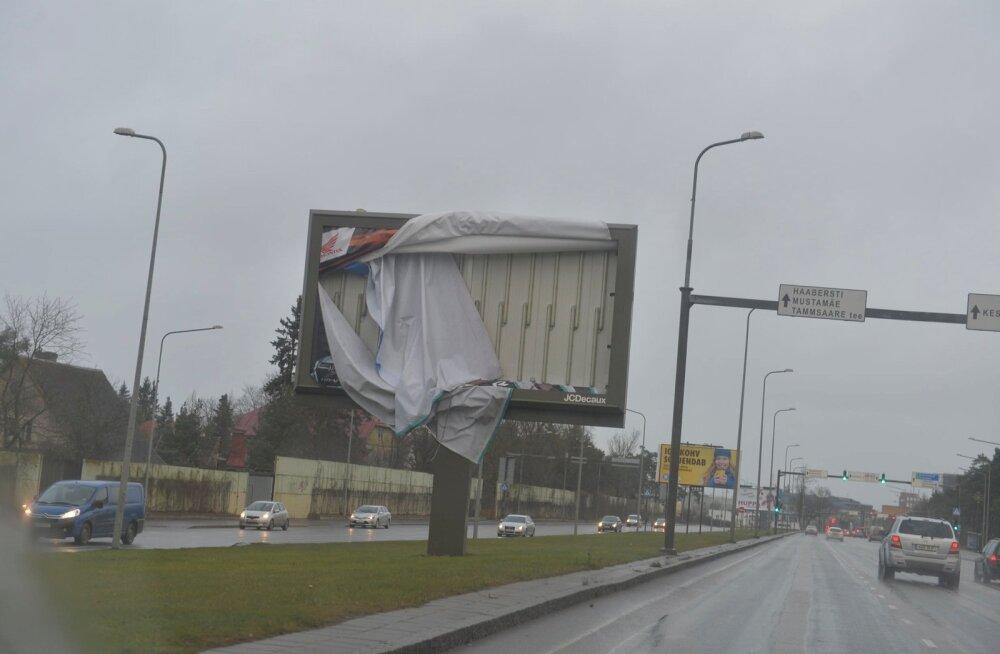TORMIBLOGI: Saartel ulatus tormituule kiirus 31,4 meetrini sekundis