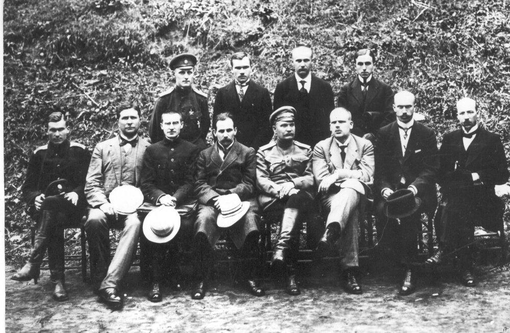 Rahvuskongressi juhatus 1917.a.