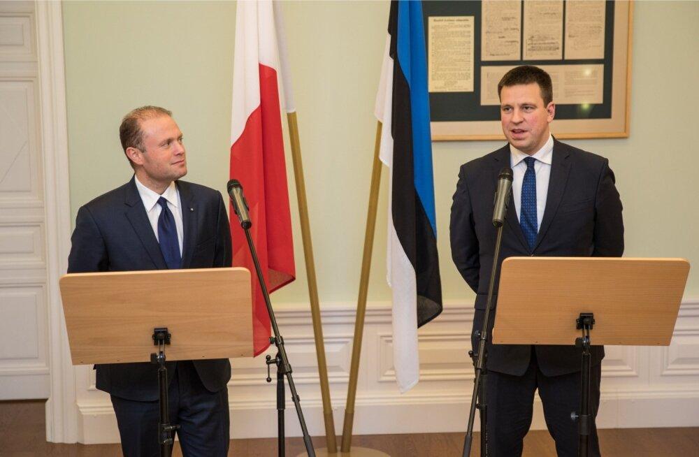 Malta peaminister Joseph Muscat kohtus Jüri Ratasega