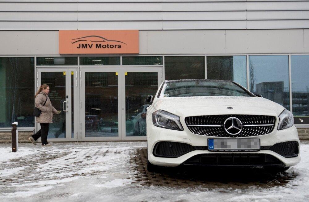 JMV Motors annab sõidukid kõigepealt rendile ja sel ajal pole keelatud Tšehhi numbrimärgiga kasvõi kuude kaupa ringi sõita.