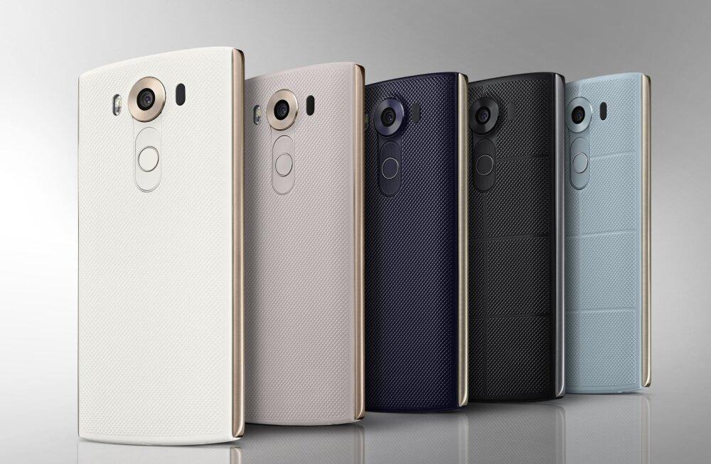 Seda ei oodanud: LG väljastab G4 kõrvale veel ühe tipptelefoni; V10 pakub mitut uuendust!