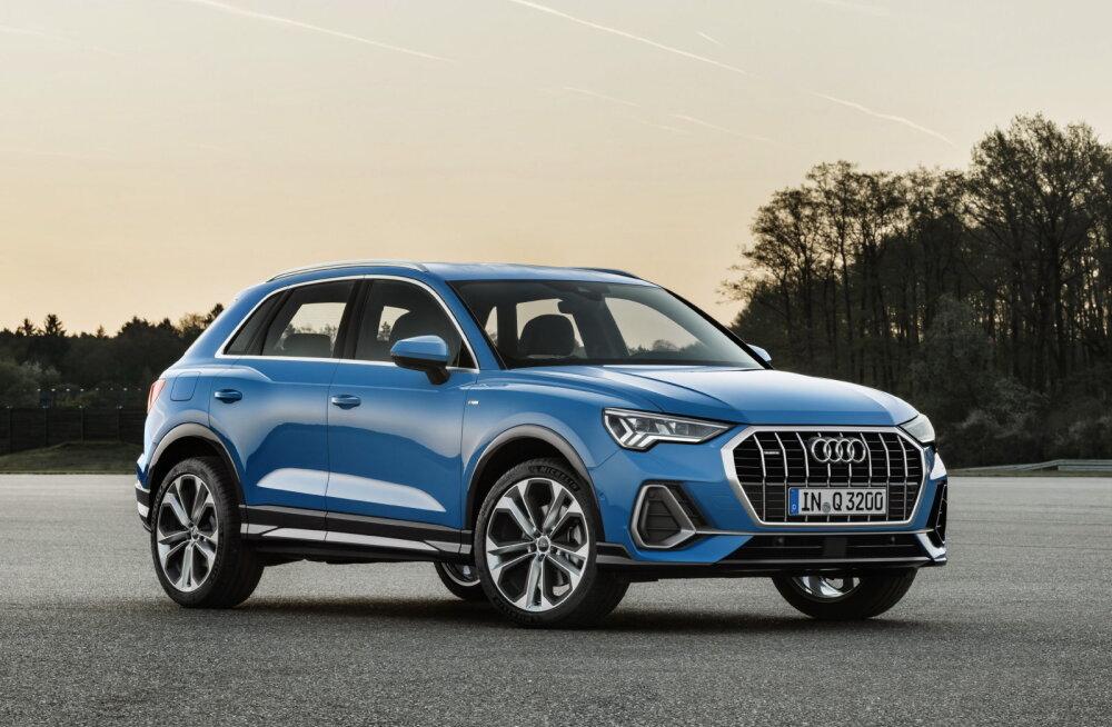 Proovisõit: teine Audi Q3 on eelkäijast nägusam ja avaram