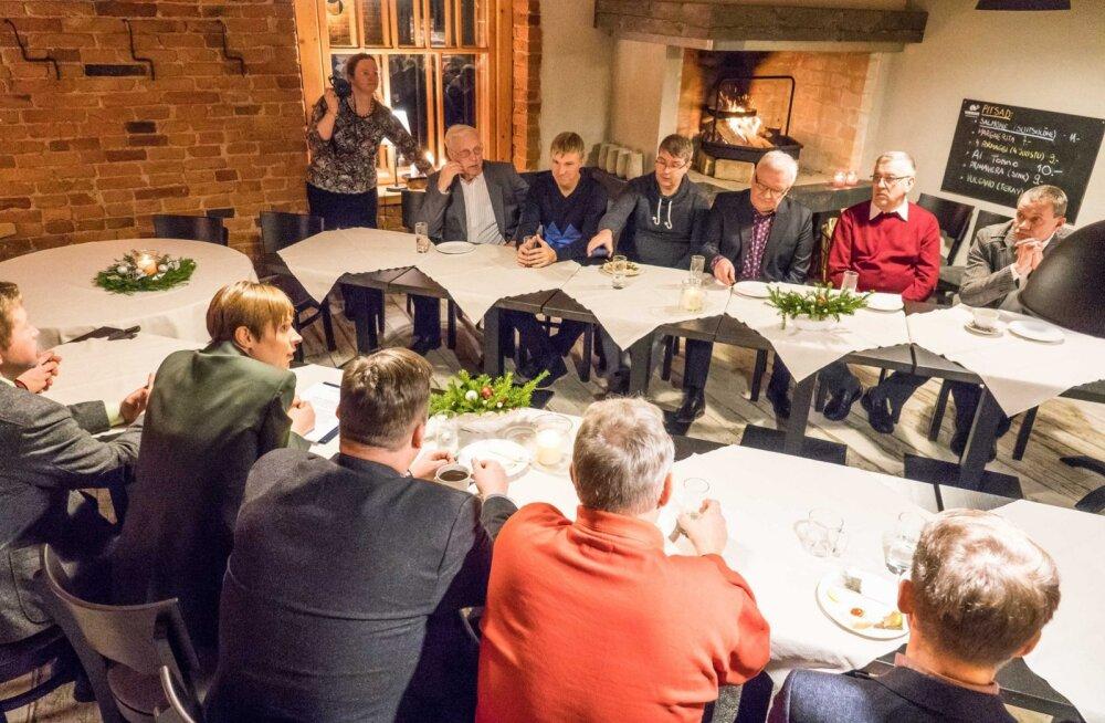 President Kaljulaid käis Tõrvas välja mõtte, kuidas kliimamuutustega kohanemiseks mõeldud eurorahadega Lõuna-Eesti teed korda teha