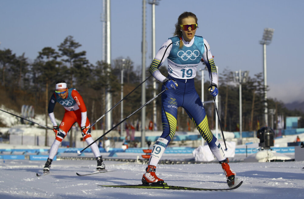 Stina Nilsson arvas finišis, et lõpetas neljandana