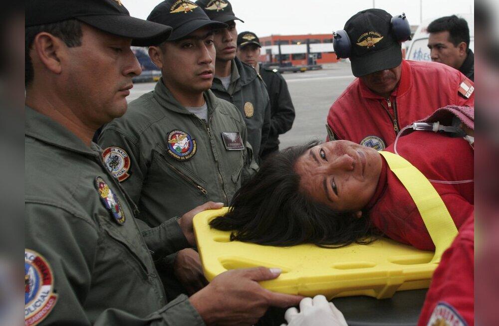 FOTOD: Peruu maavärina tagajärjed