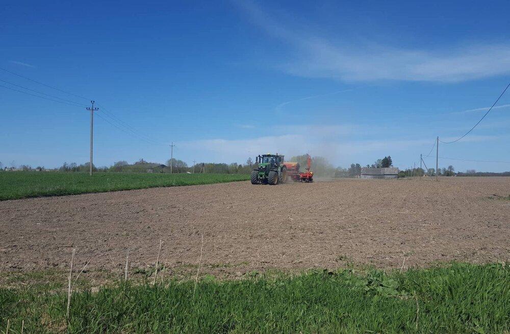 Aasta põllumehe päevik | Kevadtööd on täies hoos