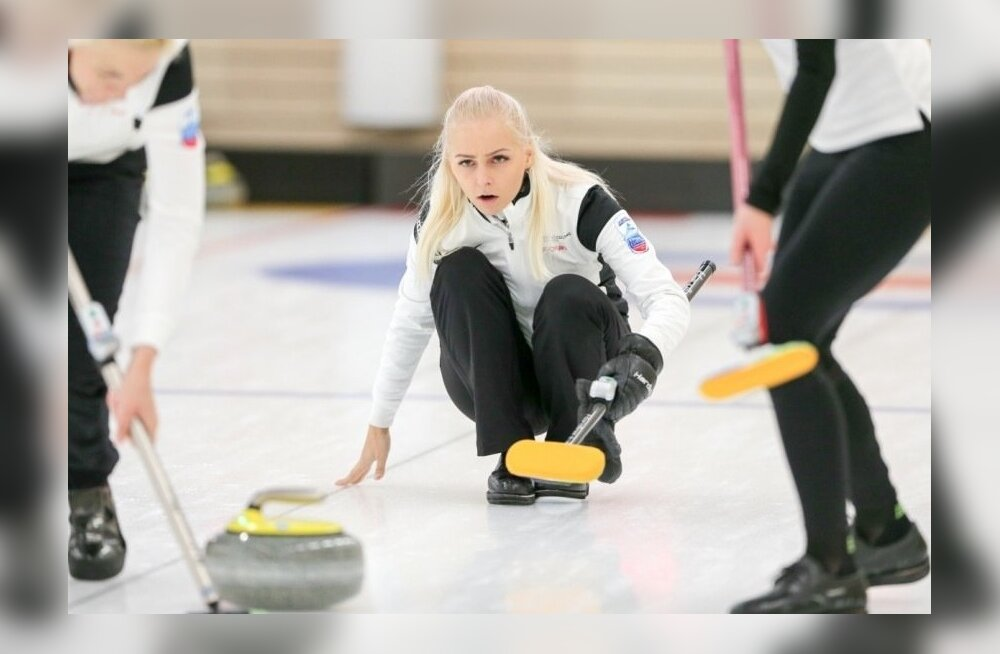Eesti curlingunaiskond võitis B-grupis pronksmedali.