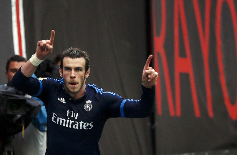 Bale vedas Reali võidule, Benzema sai vigastada