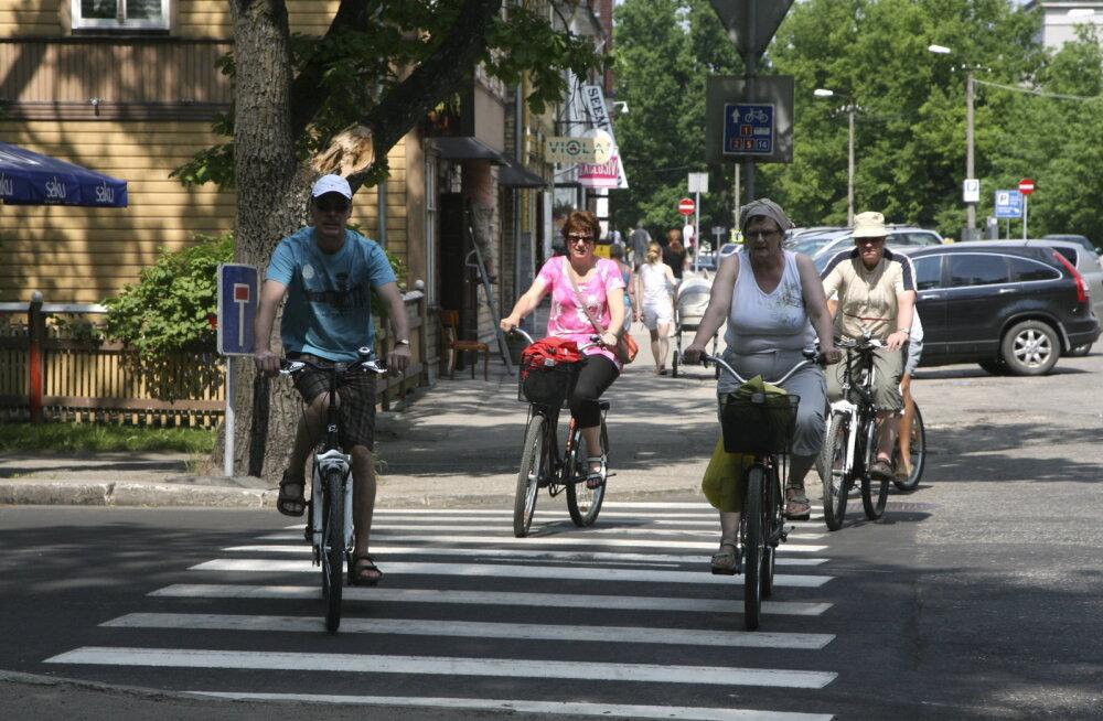 Politsei: ratturid tehku liiklusreeglid endale selgeks!