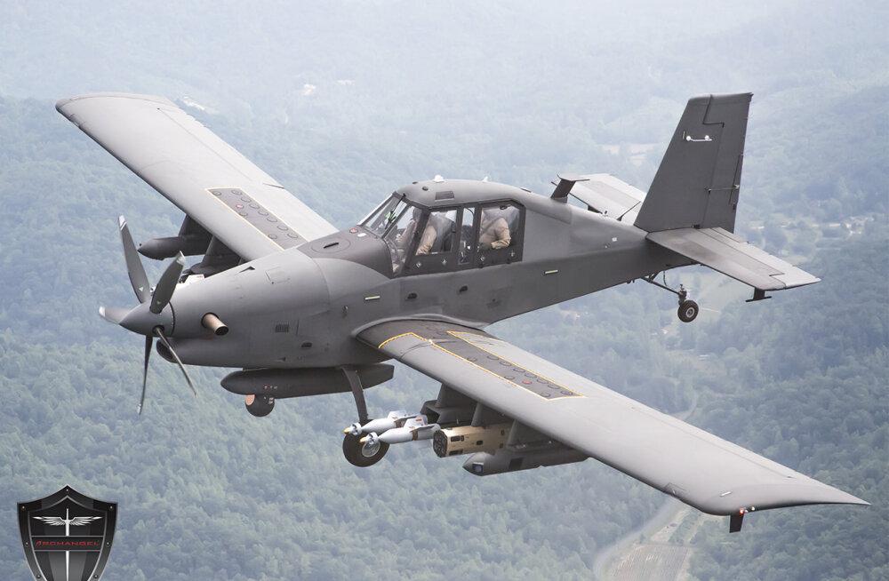 Ootamatu, kuigi põhjusega soov: USA õhuvägi vajab lahinguteks aeglast odavhävitajat