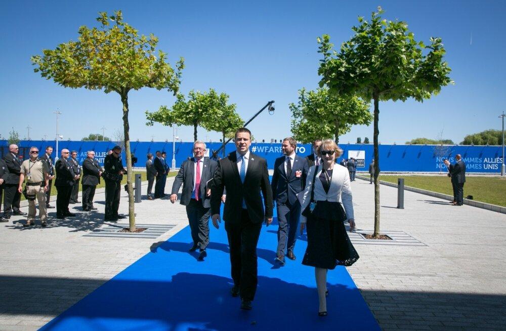 Jüri Ratas NATO tippkohtumisel