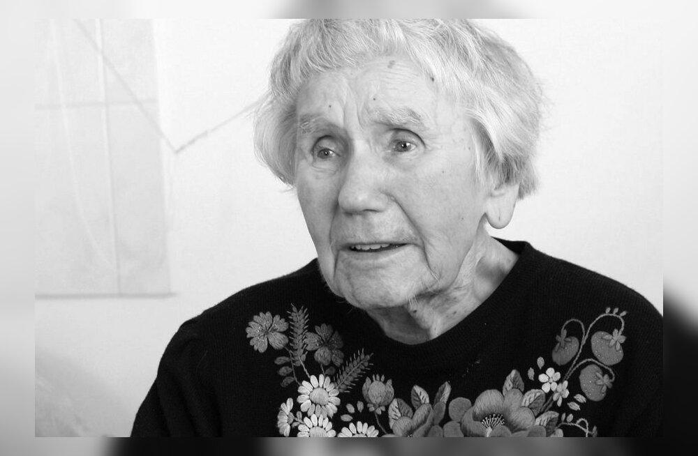 Lahkus näitleja ja leelotaja Laine Mesikäpp   (27. veebr 1917 – 5. mai 2012)