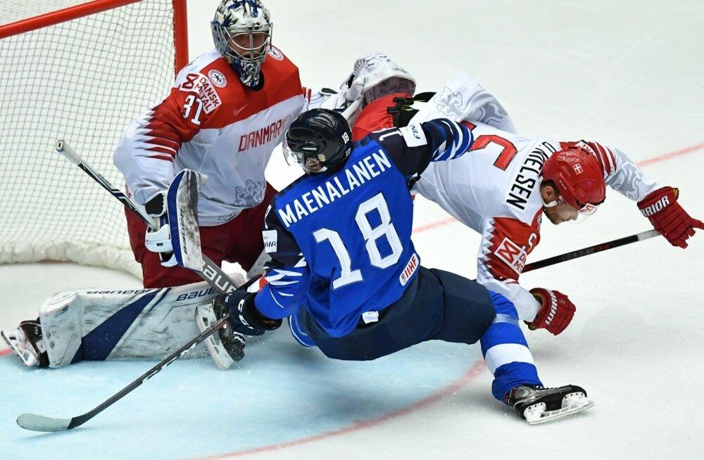 Jäähoki Taani vs Soome
