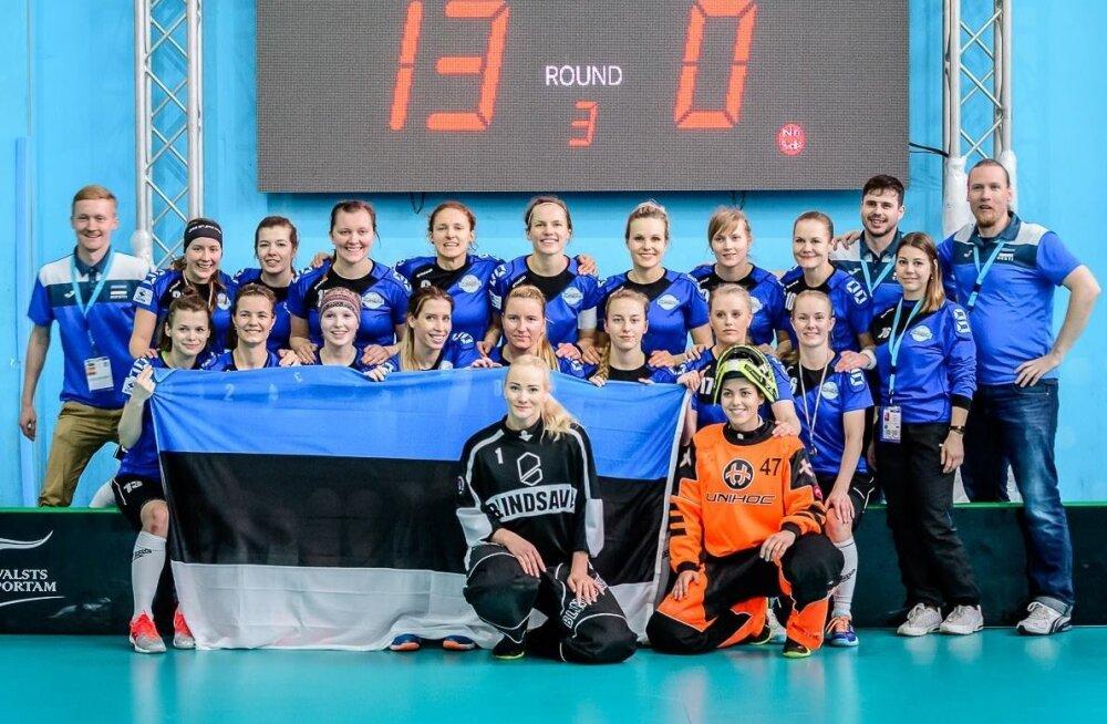Eesti naiste saalihokikoondis