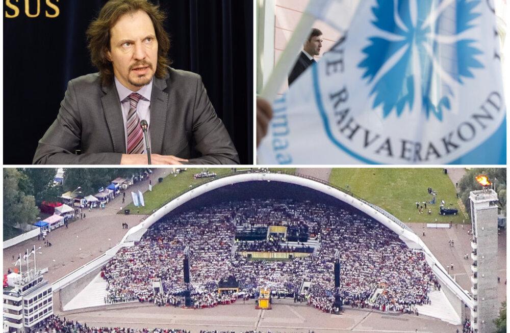 Indrek Saare sõnum Sirbi artiklit kritiseerinud EKRE-le: teie käitumine õõnestab demokraatiat ja sõnavabadust!