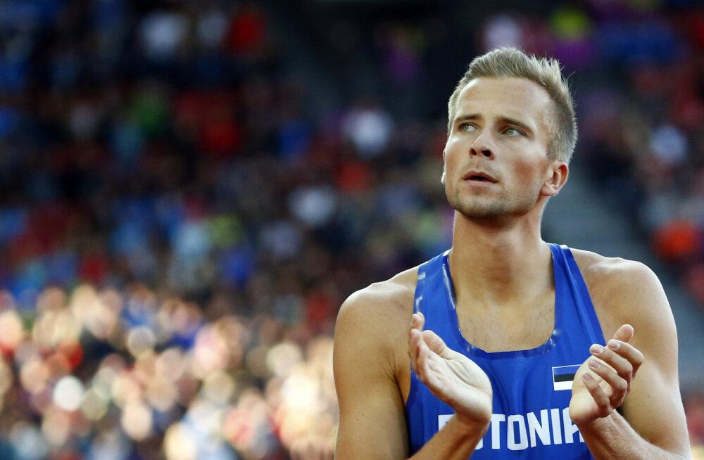 Hooaja parima jooksu teinud Rasmus Mägi Lausanne'i Teemantliigal kolmas