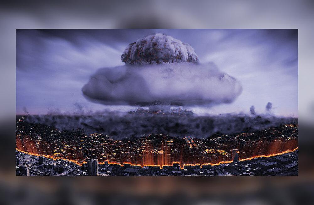"""Kultuurihoiatus! Täna toimub Klaaspärlimängul """"Hiroshima – Nagasaki"""" esmaettekanne – löökpille tuuakse Jaani kirikusse rekkatäis"""