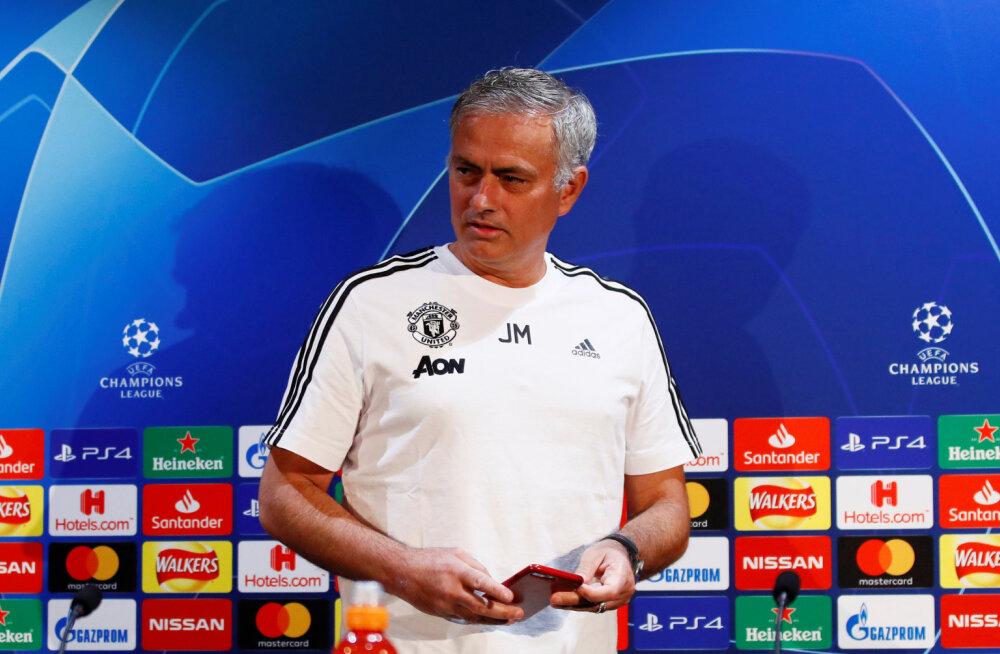 Mourinho ninanpis ajakirjanikele: homne pressikonverents toimub hommikul kell 8
