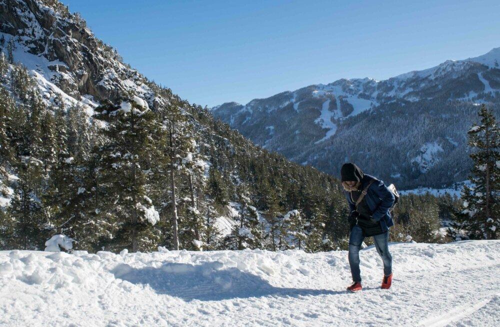 Napsuga liialdanud Eesti turist eksles Itaalia Alpides hotelli asemel mäe otsa