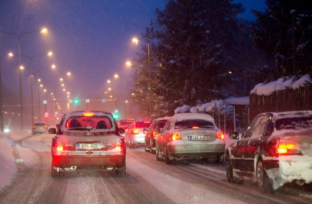 Päev liikluses: õnnetusi polnud, vahele jäi kolm napsutanud juhti