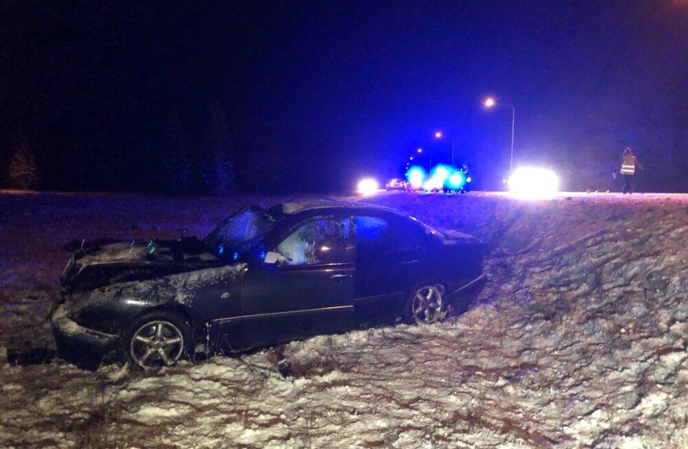 Traagiline avarii Pärnumaal