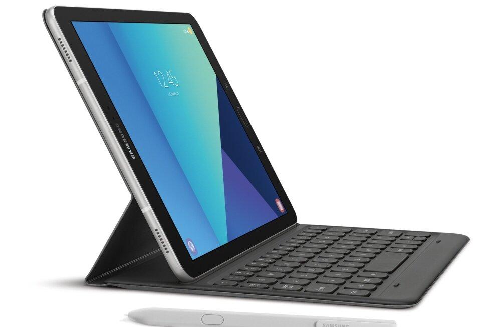 Galaxy Tab S3 ja puutepliiats S Pen (hõbedane, wifi andmesidega). Üle 4000 puudutuse registreerida suutev andur aitab tahvlil käekirja tõhusalt ära tunda ja joonistada survetundlikult nagu pärispliiatsiga.