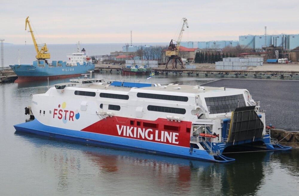 Viking Line'i katamaraan FSTR