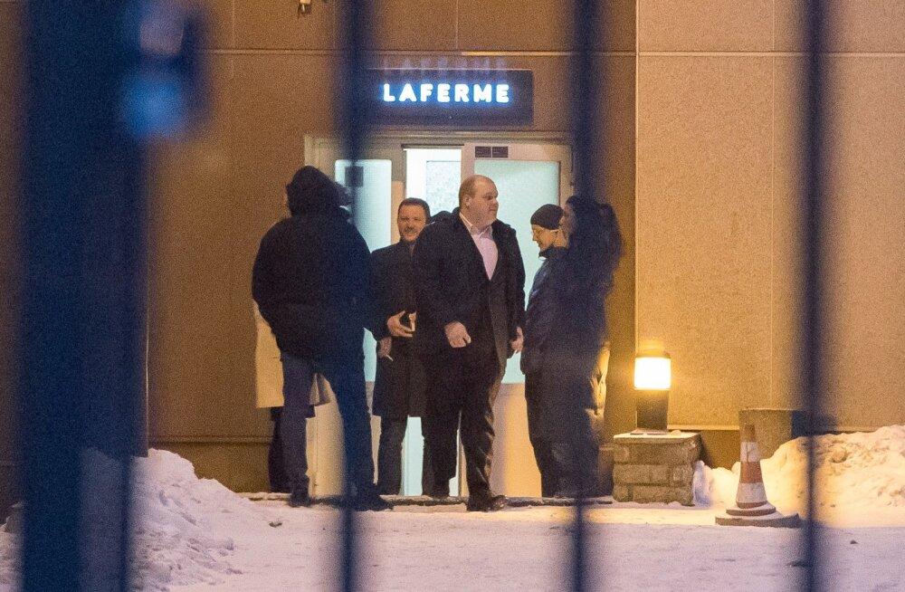 Salakohtumine käesoleva aasta veebruaris Tallinnas. Kohtumisel osalenud ei soovinud toona rääkida, mida kohtumisel arutati.