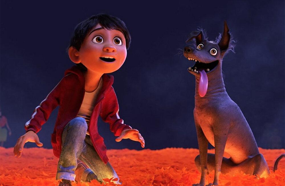 """NÄDALAVAHETUSE TOP7   Enim vaadatud kinofilmide edetabelit juhib endiselt Pixari """"Coco"""""""