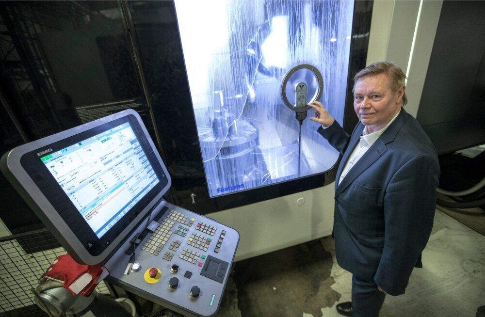 Arenduskeskuse IMECC juht Jüri Riives aitab läbi viia digiauditit Viljandimaal.