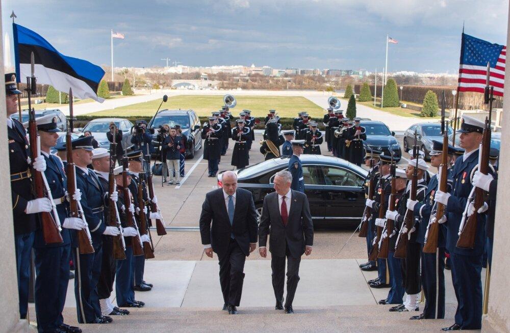 Eesti kaitseministri Jüri Luige kohtumine USA kolleegi James Mattisega 8. märtsil sillutas teed järgmisel nädalal toimuvale presidentide kokkusaamisele.