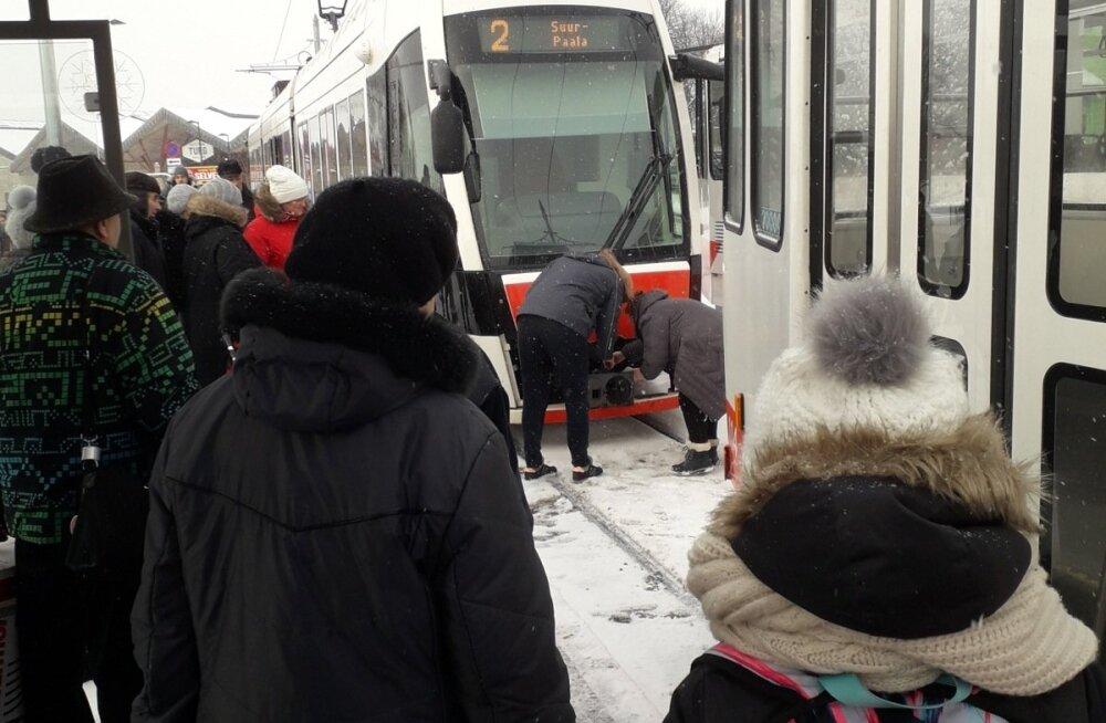 Trammid Balti jaamas