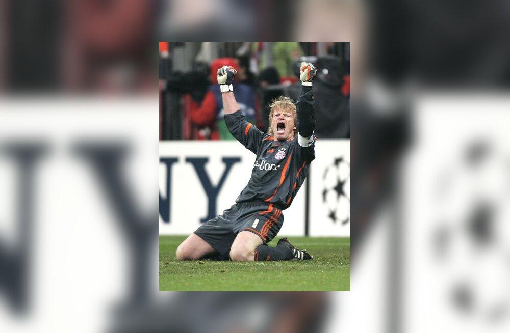 Bayerni väravavaht Oliver Kahn