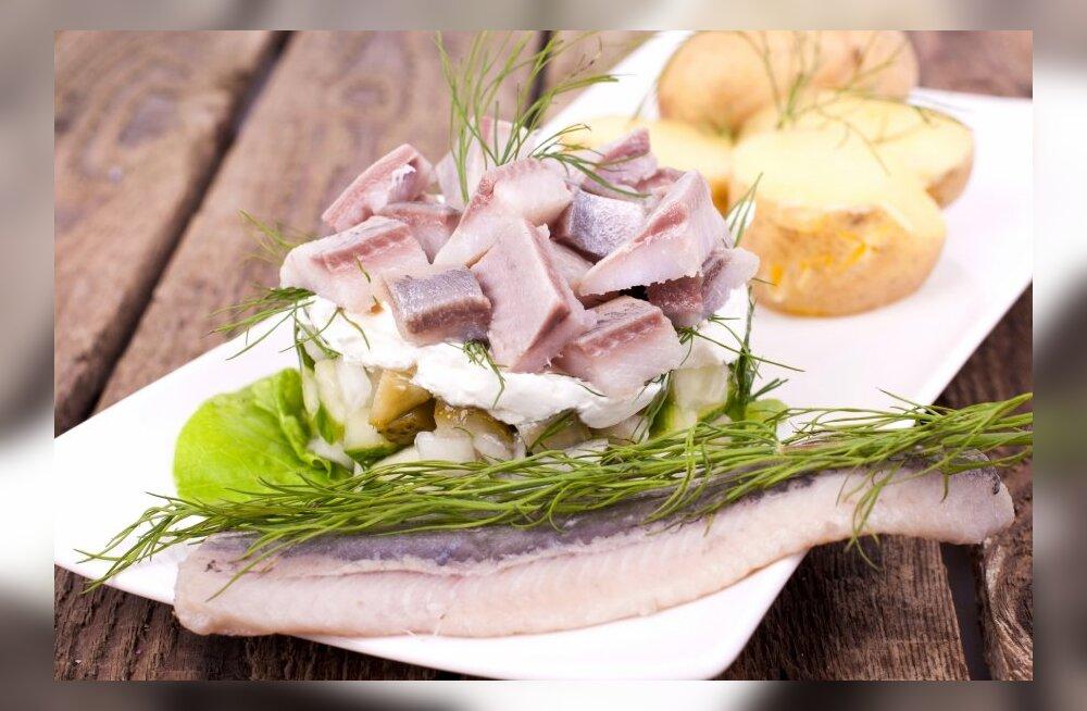 Kui palju sisaldavad erinevad kalad ja mereannid kasulikku rasva?