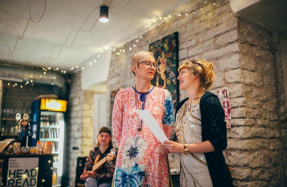 Kätlin ja Hanneleele Kaldmaa tänavu kirjandusfestivalil Head Read