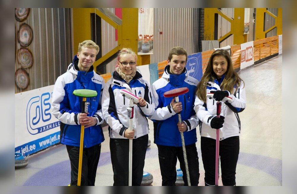 Noorte taliolümpiamängudele pääsenud curlinuvõistkond