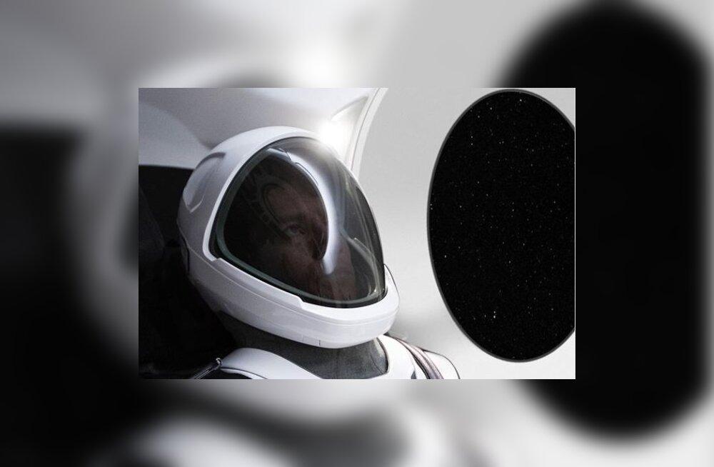 Elon Musk avalikustas esimese foto SpaceXi uuest skafandrist