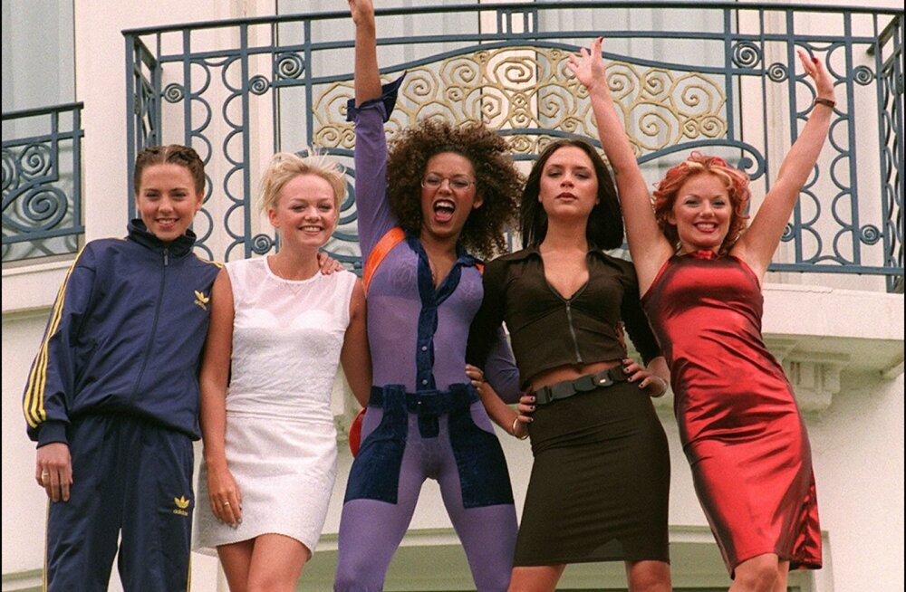 FRANCE-ENTERTAINMENT-BRITAIN-MUSIC-SPICEGIRLS