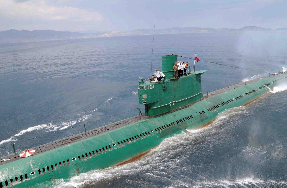 Suurimad allveelaevastikud maailmas: Põhja-Korea esikoht ajab ameeriklasedki muret tundma