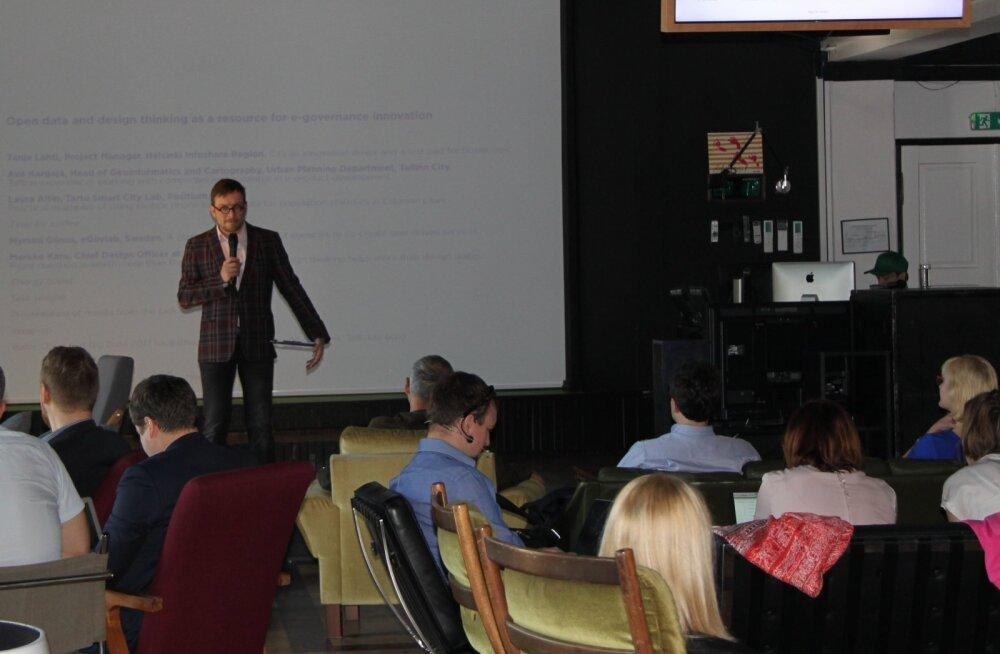 Loomeettevõtluse Akadeemial räägitakse e-valitsemise innovatsioonist Eestis ja Põhjamaades