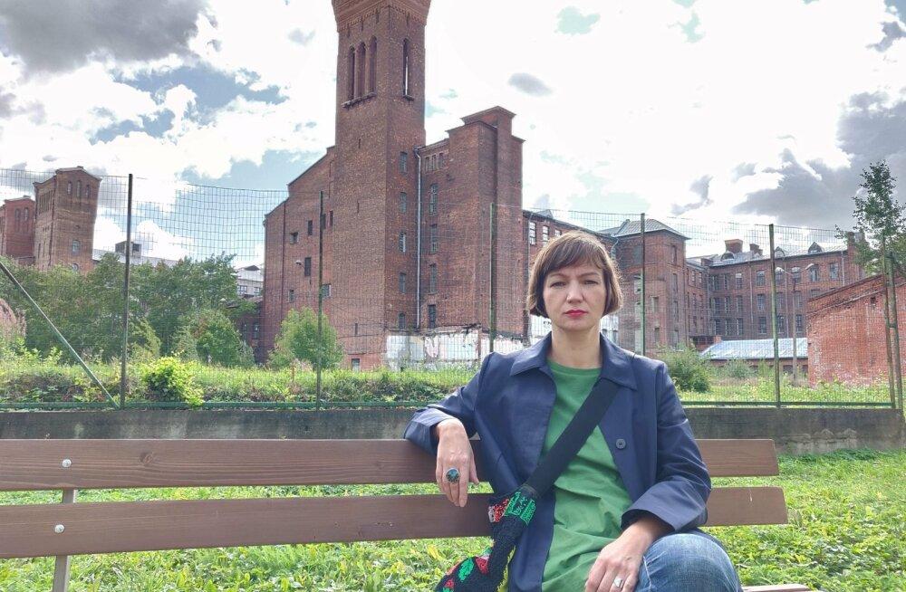 Narvast pärit kunstnik Maria Kapajeva ütleb, et tähtis on tuua Narva kogu Eesti kaardile, et ka ülejäänud riik näeks linna potentsiaali.