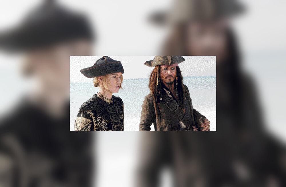 Kariibi mere piraadid ei langeta surnupealippu