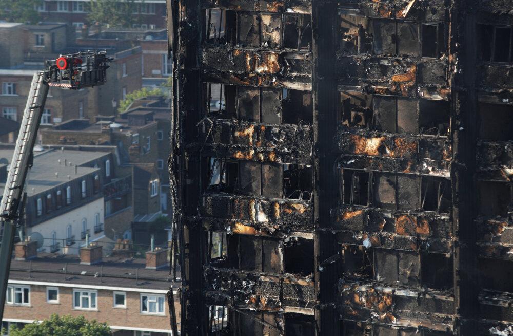 Пожар в Гренфелл-тауэр: десятки числятся пропавшими без вести