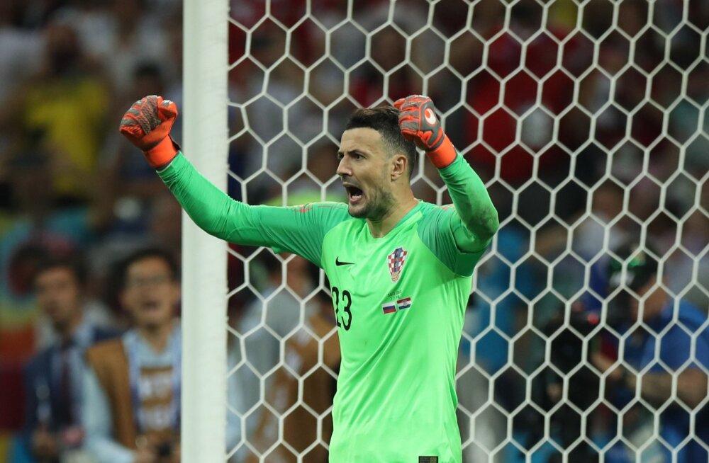 Horvaatia koondise väravavaht mängis veerandfinaali vigastusega