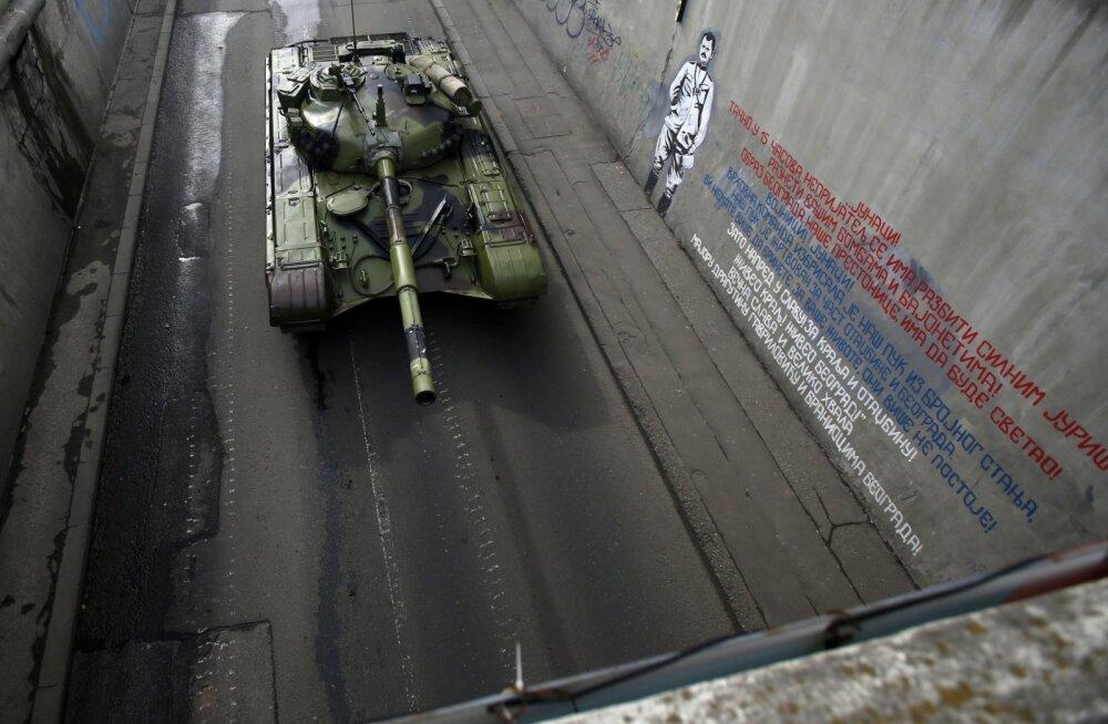 Ajakirjast Sõdur: Venemaa jalajälg endises Jugoslaavias