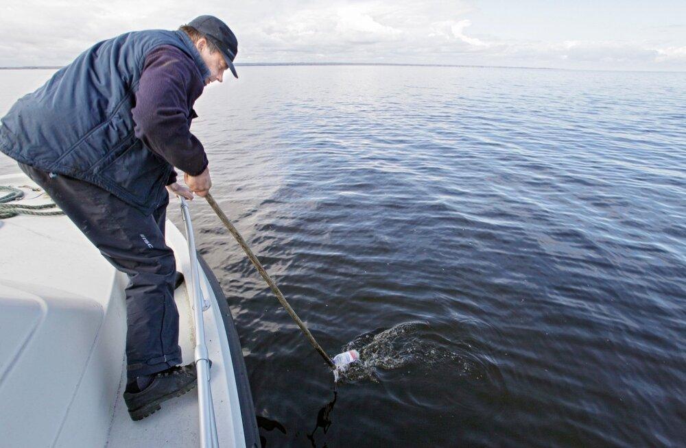 Peipsi järvel toimuvad järjekordsed nakkevõrkude koristustalgud