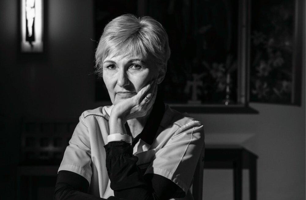 Jelena Leibur, SA EELK Tallinna Diakooniahaigla juhataja ja sisearst. Jelena on olnud surmale lähedal mitmel moel: pärast autoõnnetust surma äärel olles ja diakooniahaiglas pealtnägijana.