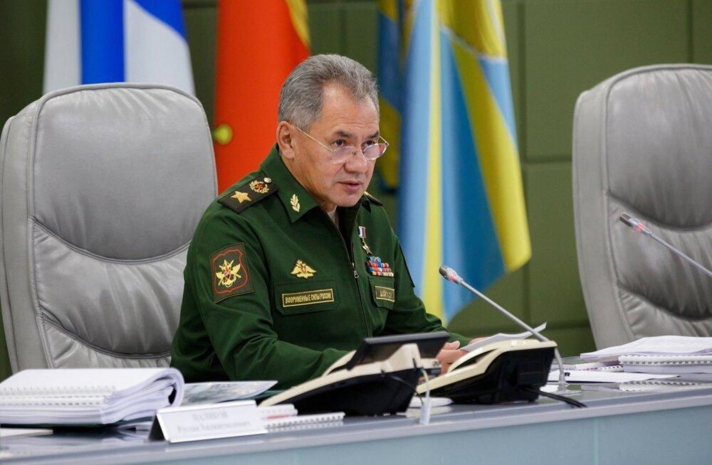Vene kaitseminister Šoigu: ažiotaaž õppuste Zapad ümber oli mõeldud NATO kasvava aktiivsuse varjamiseks