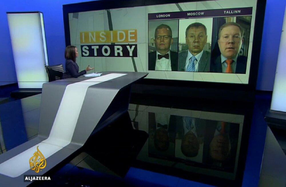 Mihkelson Al-Jazeera arutelusaates endisele duumasaadikule: mul on teile väga lihtne nõuanne – käige Ukrainast koju!
