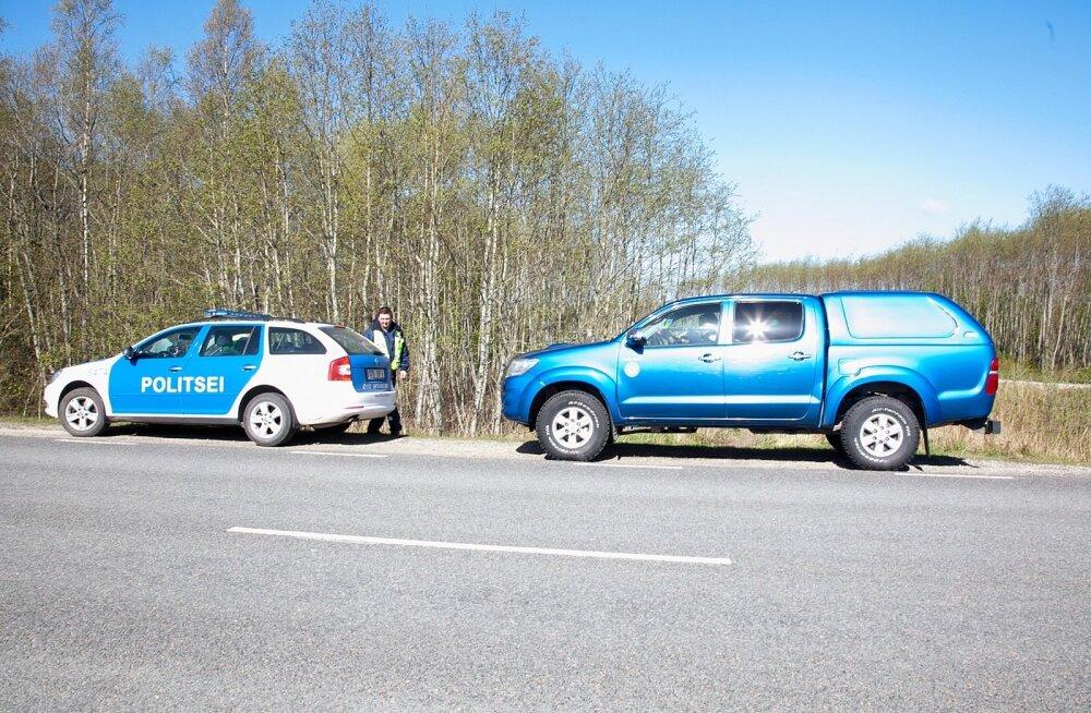 Saaremaal, Lääne -Saare vallas tabati röövpüüdjad